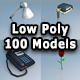 Low Poly 100 Models Pack