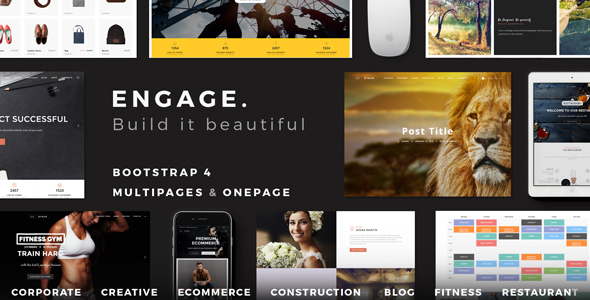 19. Engage - Creative Multipurpose HTML Theme