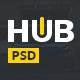 HUB - Powerful Blog & Magazine PSD Template