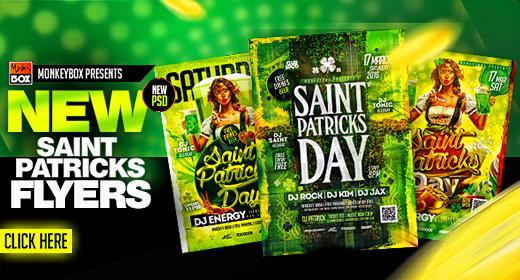 Saint Patricks Day Flyers