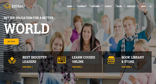 A Best College WordPress Theme