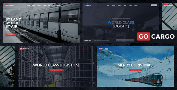 Download GoCargo - Freight, Logistics & Transportation WordPress Theme nulled download