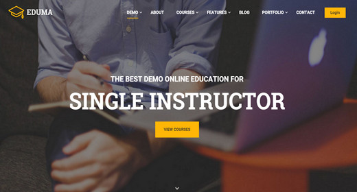 WordPress Academy Theme