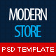 Modern Store - premium shop design - ThemeForest Item for Sale