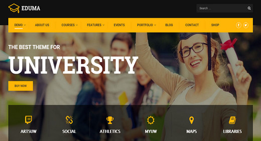 Academy Theme WordPress