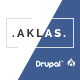 Aklas - Clean & Creative Drupal 8 Theme