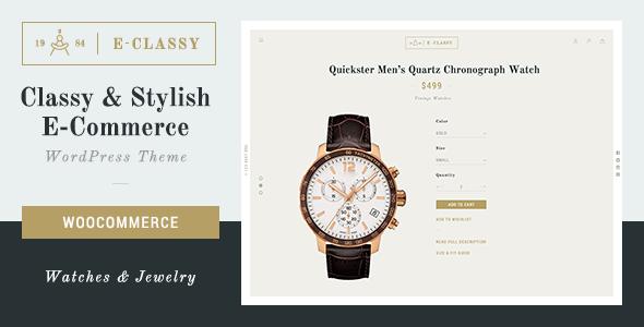 eClassy - eCommerce Classy Pro WordPress Theme