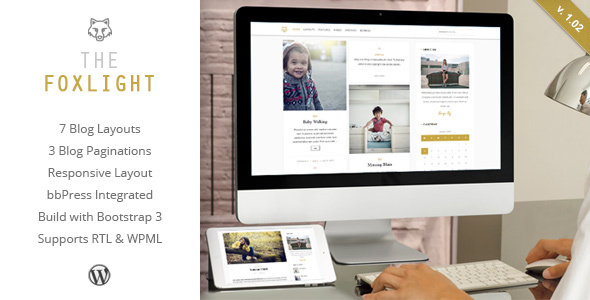 Download Foxlight - WordPress Personal Blog Theme nulled download