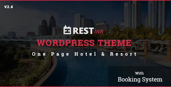Download Restinn- A Booking One Page Theme For Resort Hotel nulled download