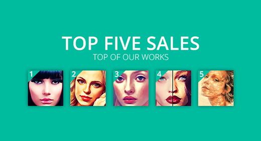 TOP FIVE SALES