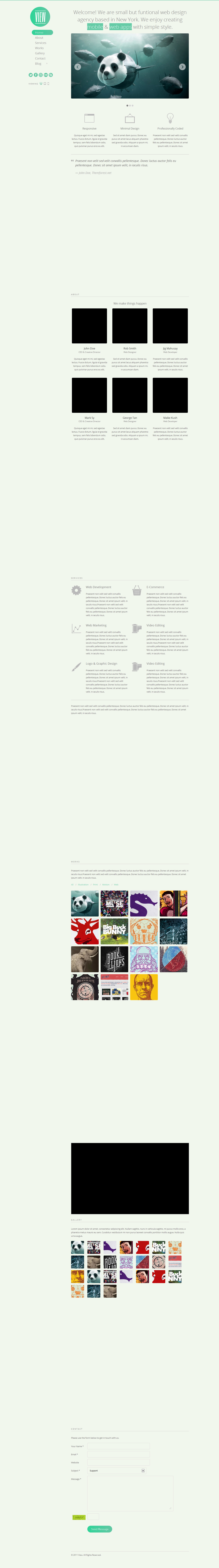 View - 2 in 1 WordPress Responsive Themes  -