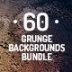 60 Grunge Backgrounds Bundle