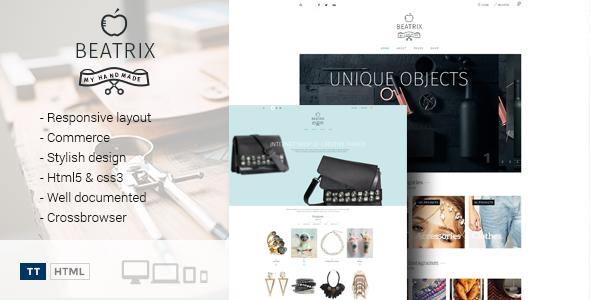 Beatrix – Handmade Shop Template