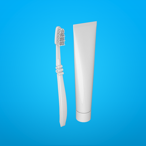 Toothbrush - 3DOcean Item for Sale