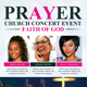 Faith and Prayer Church Flyer