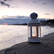 Lantern on the Beach