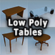 Tables Low Poly