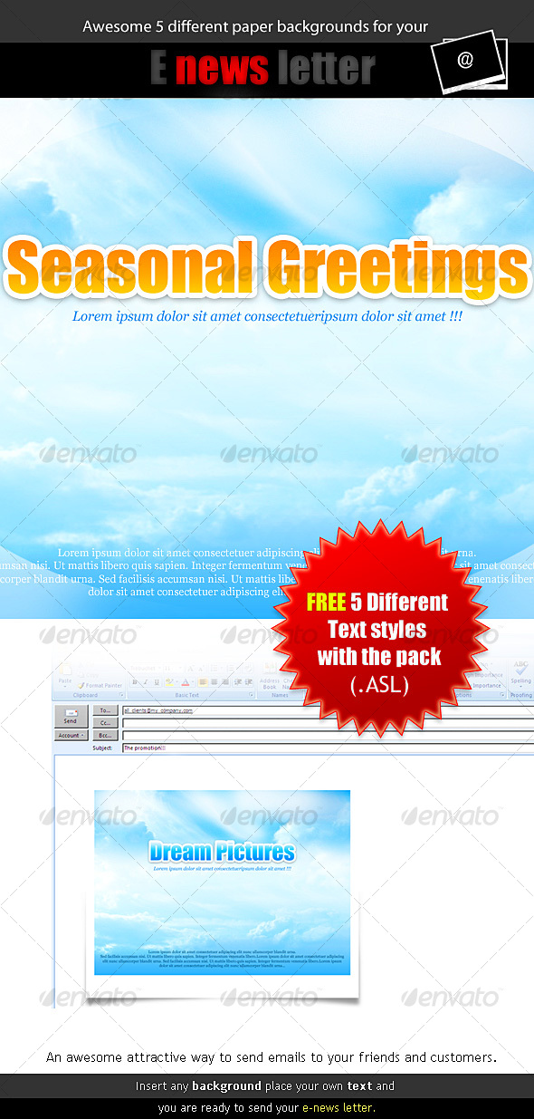 awesome e-news letter paper background - Backgrounds Graphics