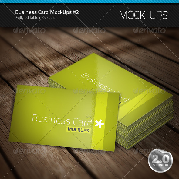 Business Card Mock-Ups #2 - Business Cards Print