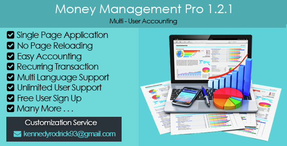 Money Management Pro 1.2.1 - CodeCanyon Item for Sale