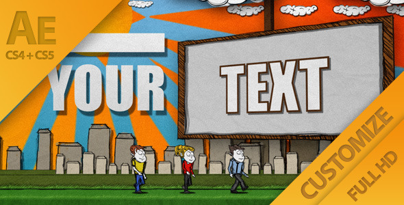 After Effects Project - VideoHive Cartoon Casual Typography Presentation 15 ...