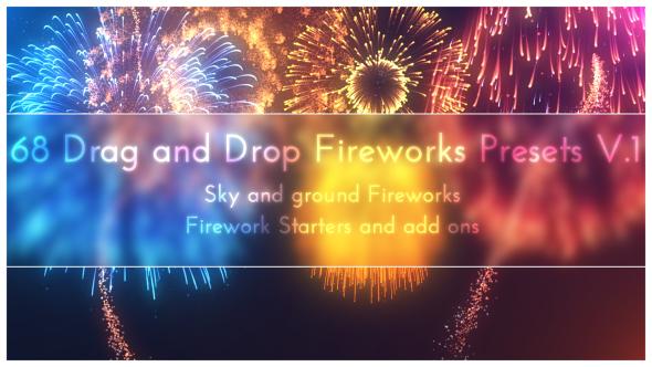 68 Particular Firework Presets Bundle V1