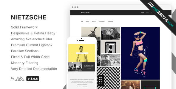 Nietzsche - Creative Multi-Purpose HTML Template