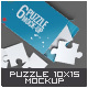 Puzzle 6 Pieces Mock-Up
