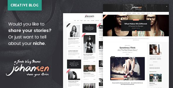 Johansen - Creative Niche Blog Theme