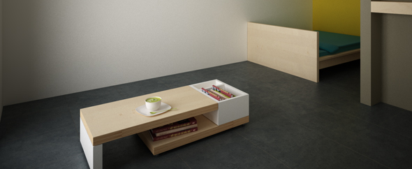 3DOcean 3D Designer Lounge Table 180746