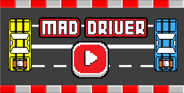 CodeCanyon Mad Driver Html5 Mobile Game android & ios 15317085