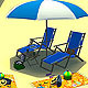Beach set - 3DOcean Item for Sale