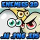 Enemies 2D - Game Character 1
