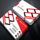 Corporate Business Card Template.304