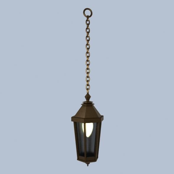 street lamp 3docean item for sale. Black Bedroom Furniture Sets. Home Design Ideas