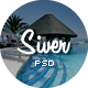 Siver - Luxury Resort PSD Template