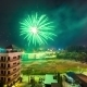 2016 New Year's Fireworks Over The City Phuket