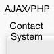 AJAX / PHP Contact System + Connectar - Article WorldWideScripts.net en venda