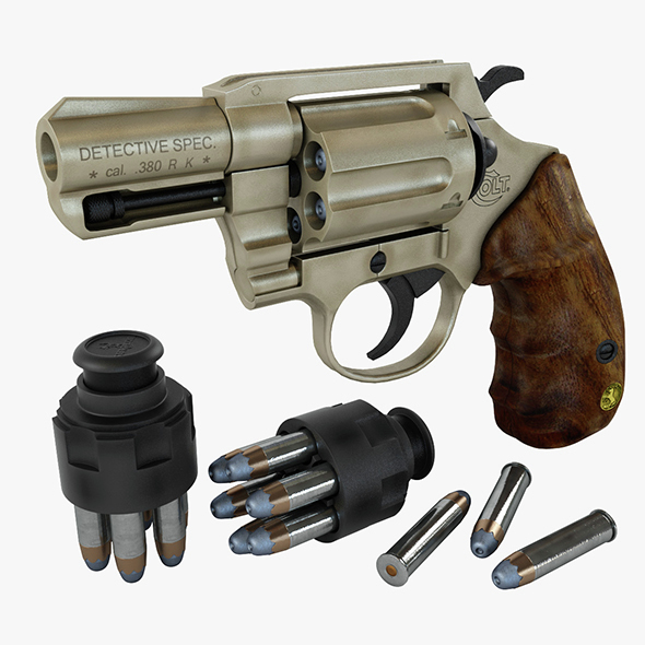 Colt Detective Special - 3DOcean Item for Sale