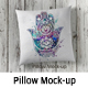 Photorealistic pillow Mock-Up