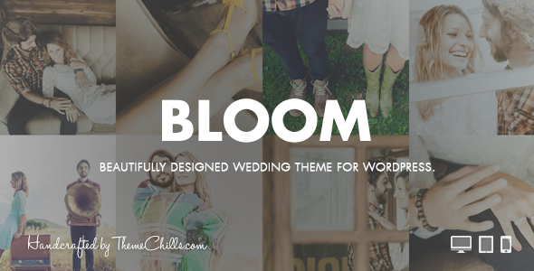 1 - Bloom | Responsive Wedding Theme