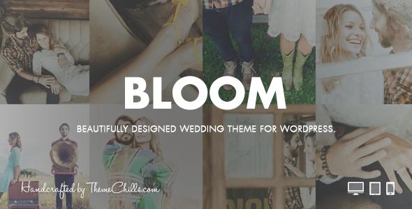 Bloom | Responsive Wedding Theme