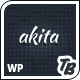 Akita Responsive WordPress Theme - Business Corporate