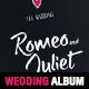 Elegant Wedding Square Photo Album Template