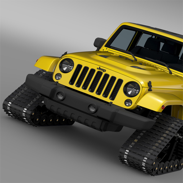Jeep Wrangler Unlimited X1 Crawler 2016 - 3DOcean Item for Sale