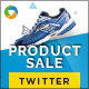 Product Sale Twitter Header