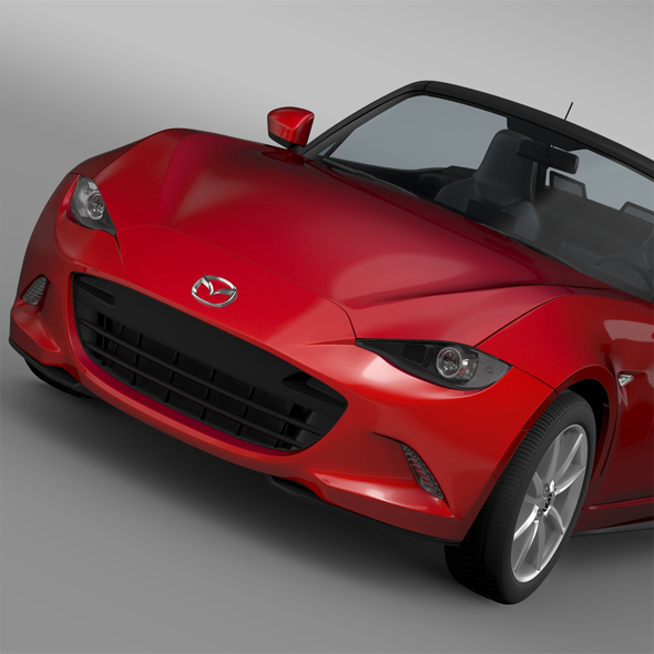 Mazda MX 5 (ND) 2016 - 3DOcean Item for Sale
