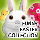 Funny Easter Collection - GraphicRiver Item for Sale