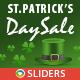 St.Patrick Day Sale Sliders - 3 Designs