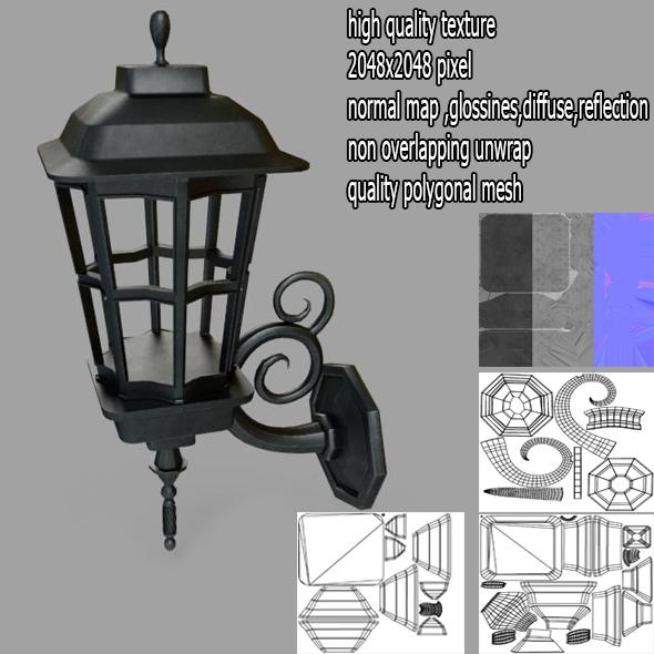 streetlight  - 3DOcean Item for Sale